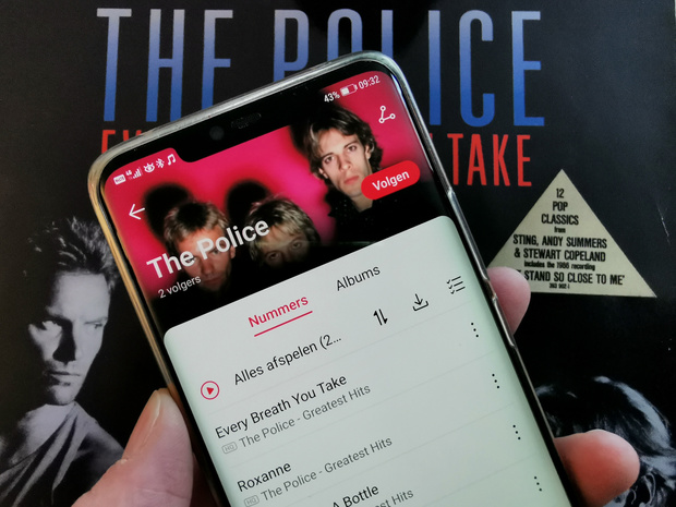 Huawei rolt eigen muziekdienst uit in België