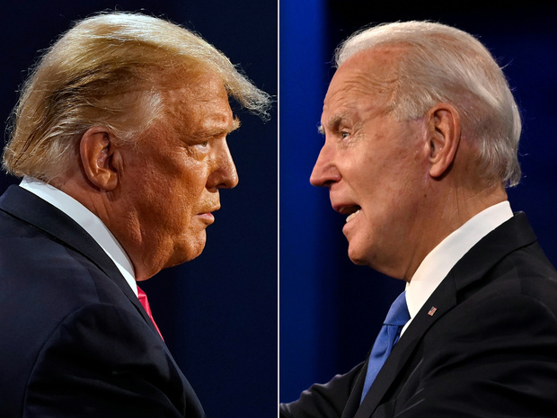 Elections USA: Trump en retard dans les sondages nationaux, les Etats-clés disputés (infographie)