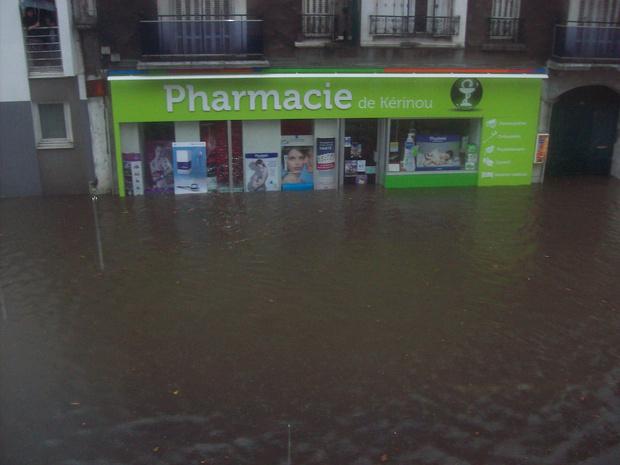 Un fonds de solidarité pour les pharmaciens touchés par les inondations