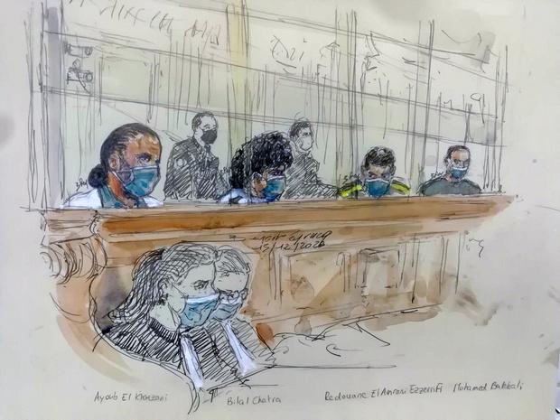 Attentat déjoué du Thalys: le tireur condamné à la perpétuité, le Belge Mohamed Bakkali écope de 25 ans de prison
