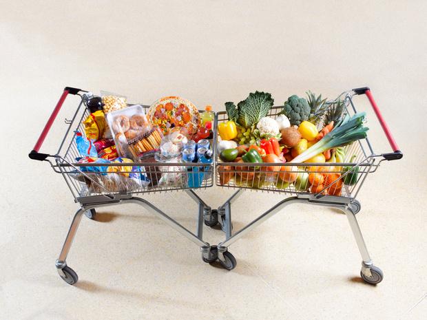 Le panier des Belges 20% plus rempli qu'en temps normal lors de leurs courses