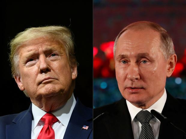 """Trump taxe de """"mascarade"""" des nouvelles ingérences russes dans la présidentielle"""