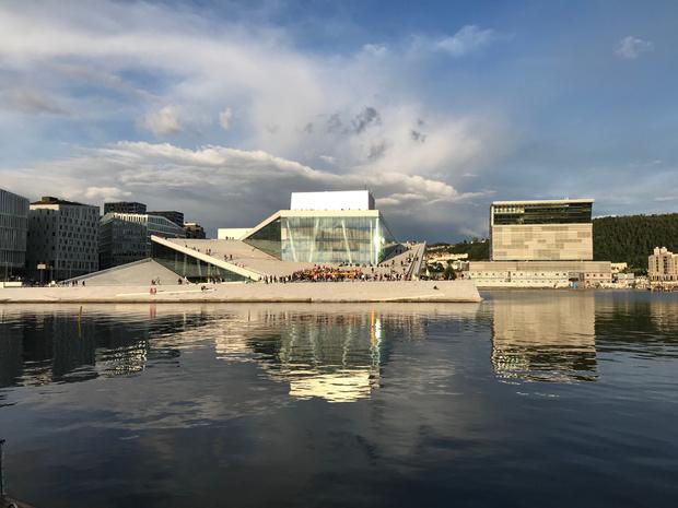 Munch en Vigeland aan het feest in Oslo
