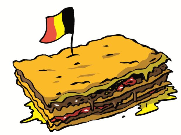 Les 190 ans de la Belgique en 50 mots: lasagne