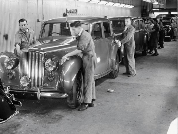 Bentley in Crewe wordt 75