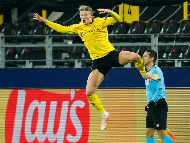 Ligue des Champions: Haaland balaye Séville et envoie Dortmund en quarts