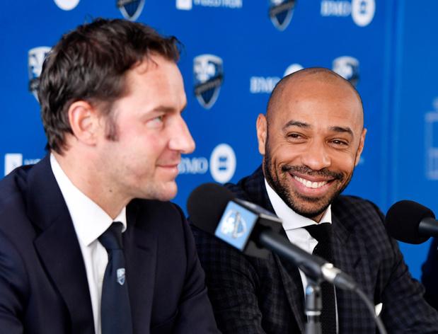 Olivier Renard révèle comment le contact s'est établi avec Thierry Henry
