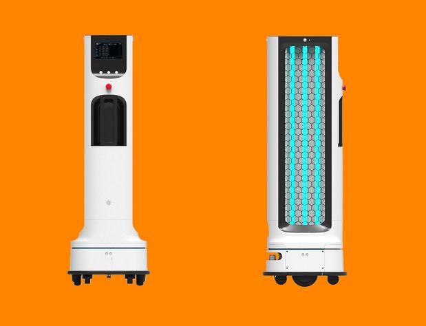 LG annonce un robot de désinfection autonome