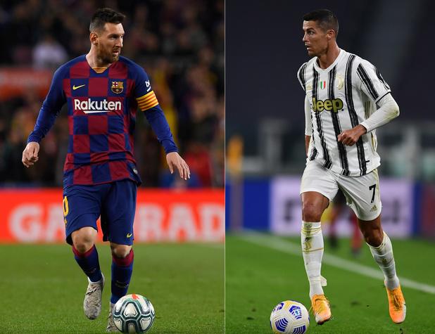 Ligue des champions: un duel Messi-Ronaldo en sursis, le PSG en terre hostile