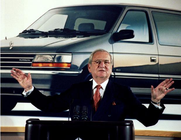 """Mort de Lee Iacocca, l""""intrigant Machiavel"""" de l'industrie automobile"""