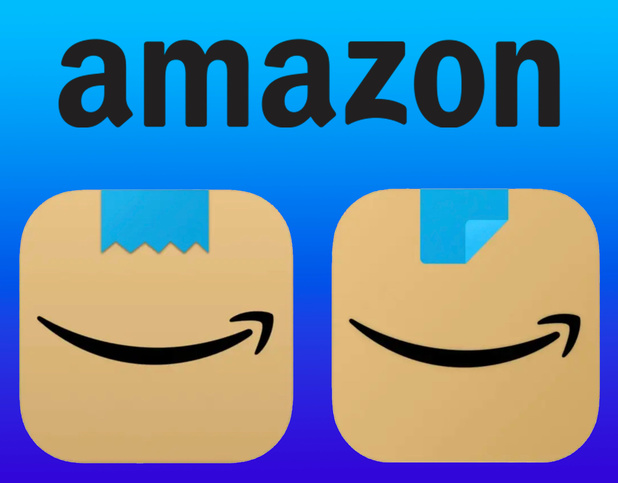 Amazon adapte le logo de son appli après des comparaisons avec la moustache d'Hitler