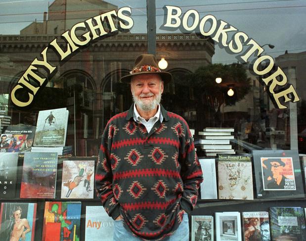 Lawrence Ferlinghetti est décédé: l'éditeur-écrivain en 4 dates clés