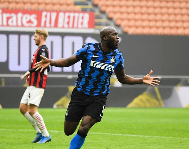 Inter: Lukaku impose sa loi dans le derby de la Madonnina