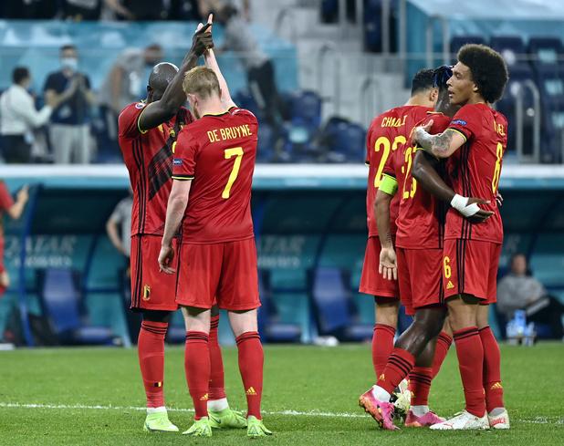 EURO 2021: la Belgique maîtrise la Finlande et assure sa première place