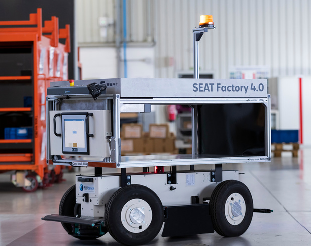 Seat gebruikt autonome wagentjes in productiesite