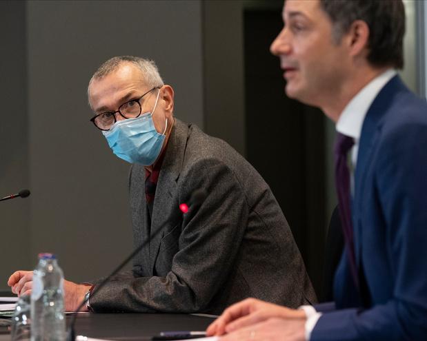 """""""Un pari risqué"""": Frank Vandenbroucke plaide pour des mesures supplémentaires"""