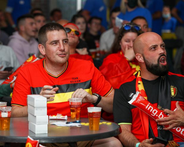 Horeca: quelles règles à suivre pour la diffusion des matchs de l'Euro à Bruxelles?