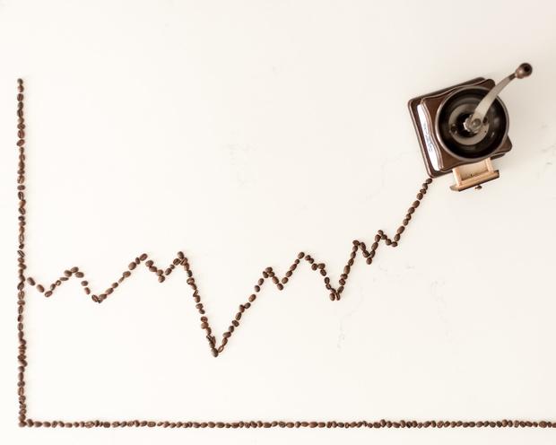 La Bourse sous caféine, l'économie sous aspirine