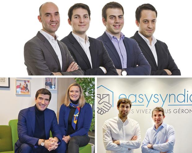 """Gazelles Bruxelles 2021 """"Trois gazelles épinglées"""": Cream Consulting, Nviso et Easy Syndic"""