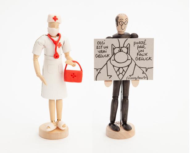 Poppetjes geveild voor Straatverplegers