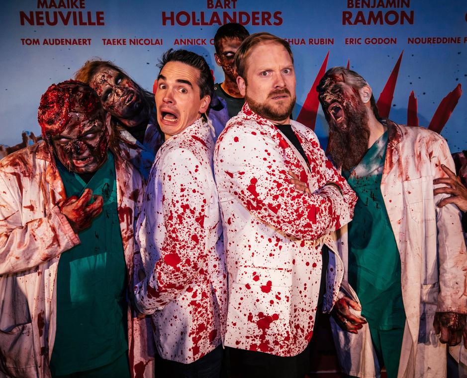 De lefgozers achter de Vlaamse zombiefilm 'Yummy': 'We brengen hem speciaal uit in de kerstvakantie'