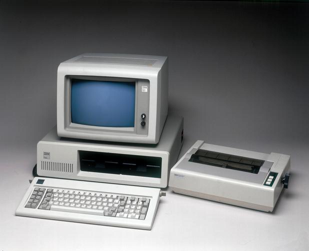 De personal computer blaast veertig kaarsjes uit