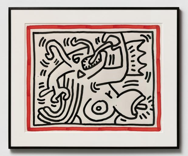 Exposition: le périple belge de Keith Haring n'est pas fini