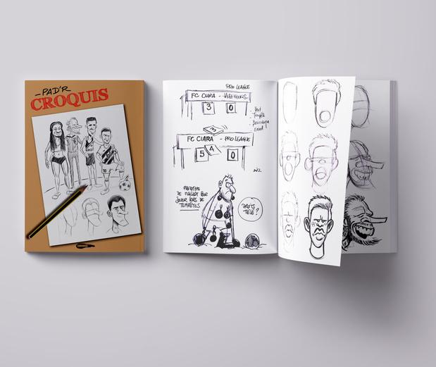 Le nouveau livre de Pad'R pour apprendre à croquer nos sportifs belges
