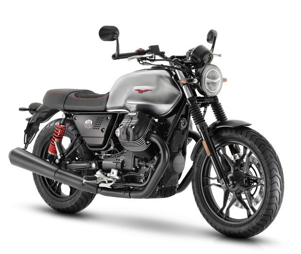 Moto Guzzi V7 III Stone S, vintage et sophistiquée