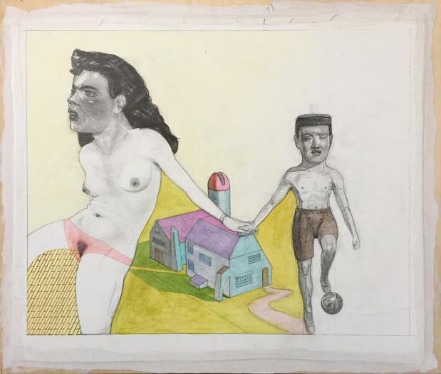 L'oeuvre de la semaine:CR7 façon Pat Andrea