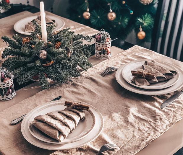 Décorer sa table de Noël grâce à trois astuces écolos