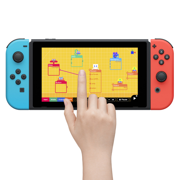 Nintendo vous apprend à créer vous-même des jeux