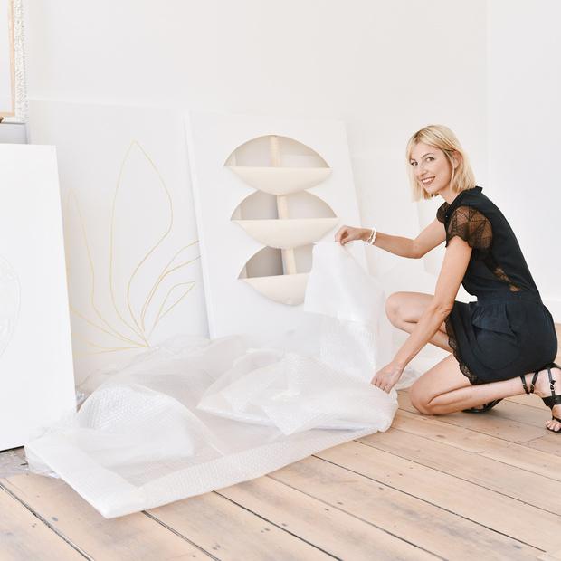 Kunstenares Catherine Grasser: 'Eerlijkheid is net zo belangrijk in je beroepsleven als in je privéleven'
