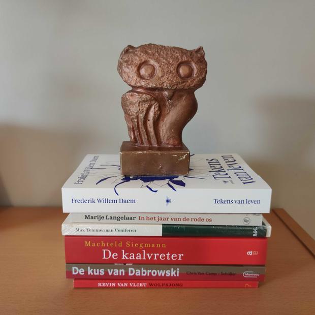 Drie Belgen maken kans op Bronzen Uil