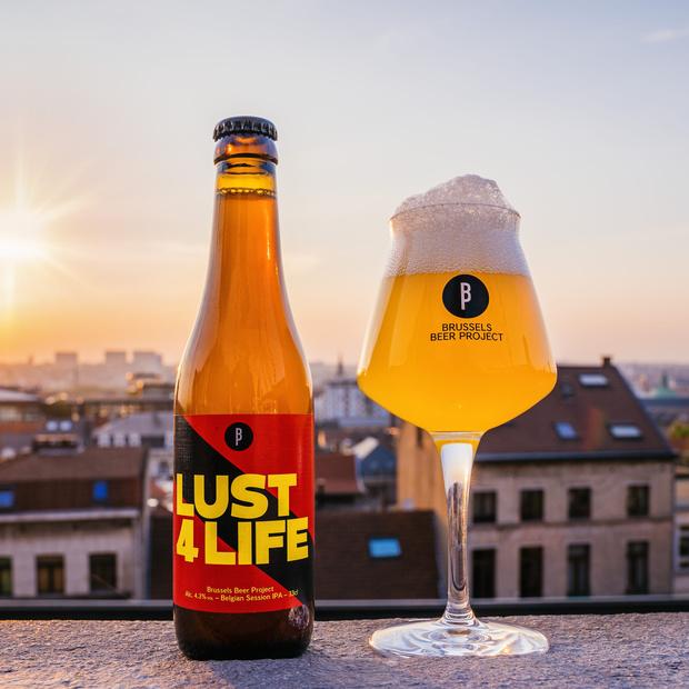 La Lust 4 Life, bière du déconfinement signée Brussels Beer Project