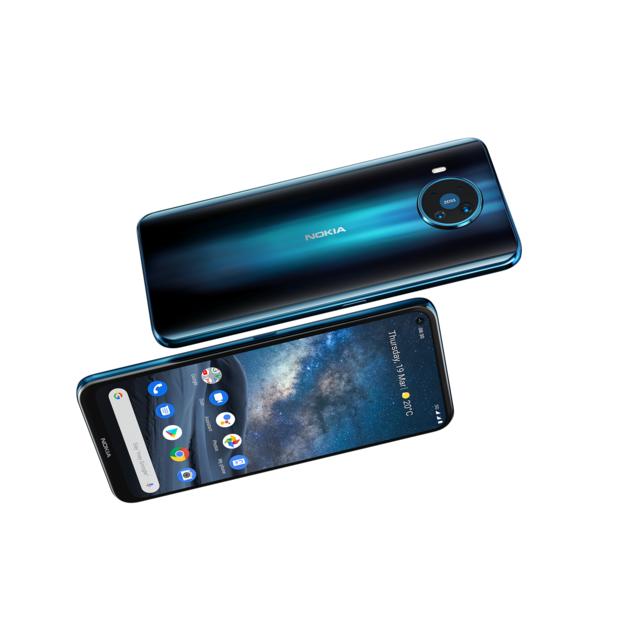 Nokia onthult 'eerste 5G-smartphone die wereldwijd werkt'