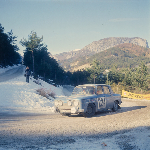 De Belgen in de Monte-Carlo Historic Rally
