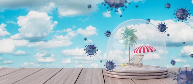 Een hogere temperatuur vertraagt de verspreiding van het nieuwe coronavirus