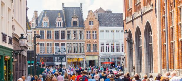 La ville de Bruges souhaite freiner l'expansion du tourisme d'un jour
