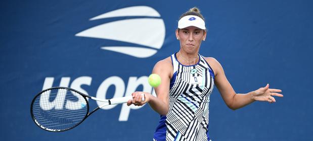 """US Open: Elise Mertens : """"Favorite pour le titre ? Je n'irais pas jusque-là"""""""