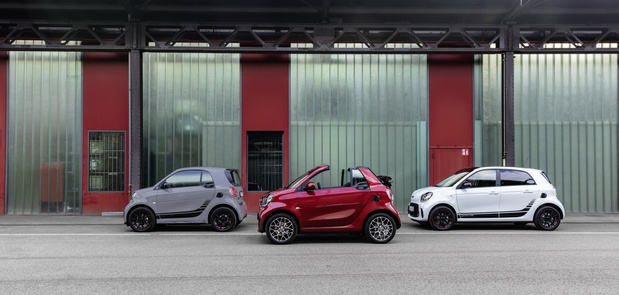 Smart toont facelift in Frankfurt