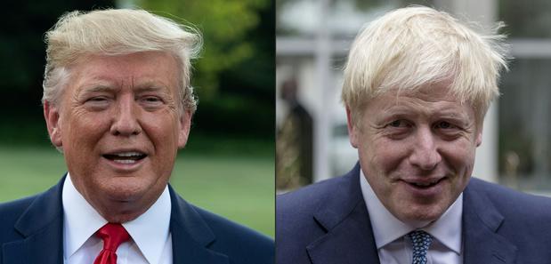 "Trump vante la perspective d'un accord ""fantastique"" avec Londres après le Brexit"