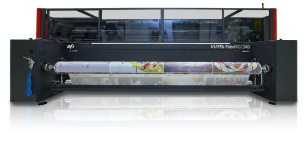 Les imprimantes à sublimation EFI™ VUTEk® font des décorations imprimées sur textile un jeu d'enfant