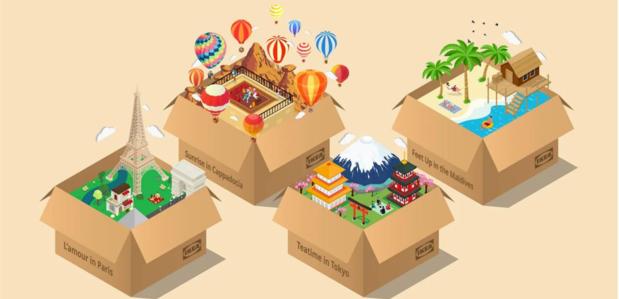 Bouw zelf je vakantie met Ikea's 'Vacations in a Box'