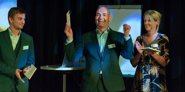 Hans Haverbeke van Port of Antwerp is ICT & Digital Coach Of The Year