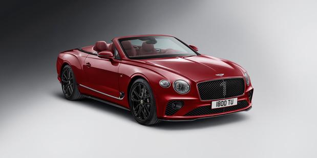 Bentley lanceert Continental GT C Number 1 Edition