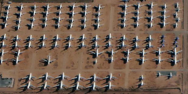 """Boeing vs Airbus: l'UE """"regrette"""" les nouvelles taxes américaines et attend Biden"""