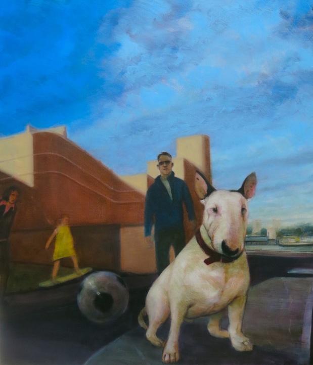 L'oeuvre de la semaine: L'homme au chien