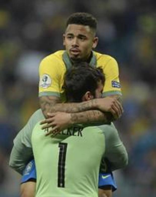 Gabriel Jesus trapt Brazilië naar halve finales Copa America