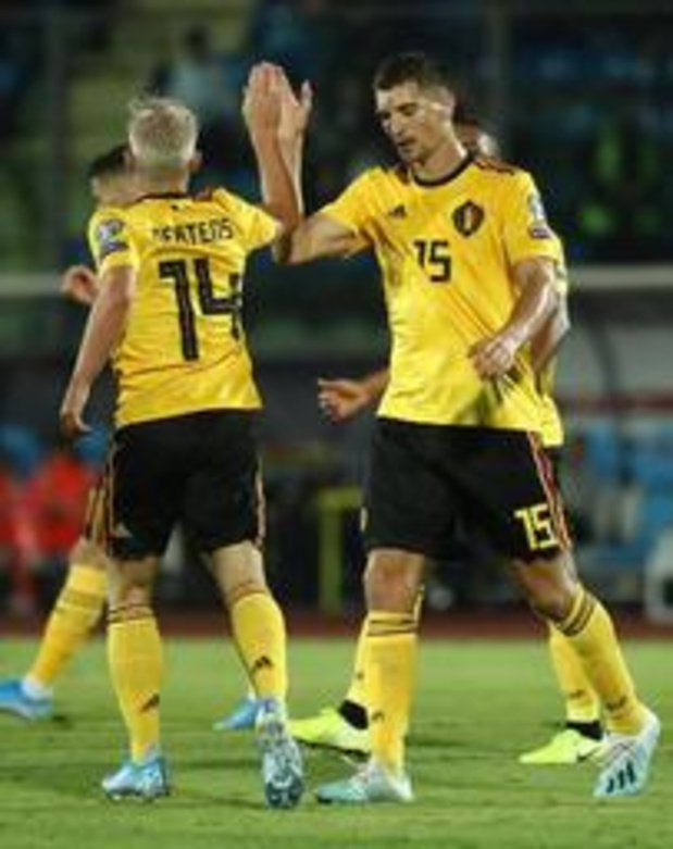 Rode Duivels - Rode Duivels winnen zonder glans met 0-4 in San Marino